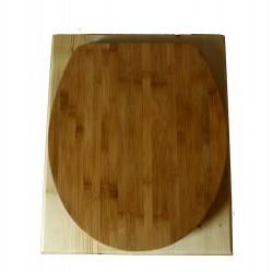 Toilette sèche huilée - La Bamboo