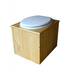 Toilette sèche huilée - La Blanche