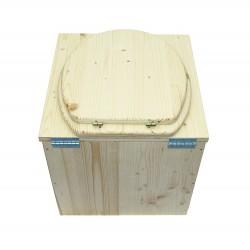 wc sec écologique - toilette sèche en bois