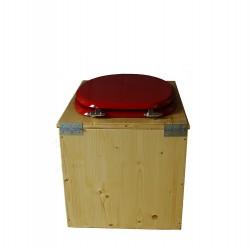 Toilette sèche huilée - La rouge Framboise