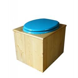 Toilette sèche huilée - La bleu turquoise
