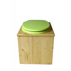 Toilette sèche huilée - La vert pomme