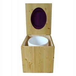 Toilette sèche huilée - La violet prune