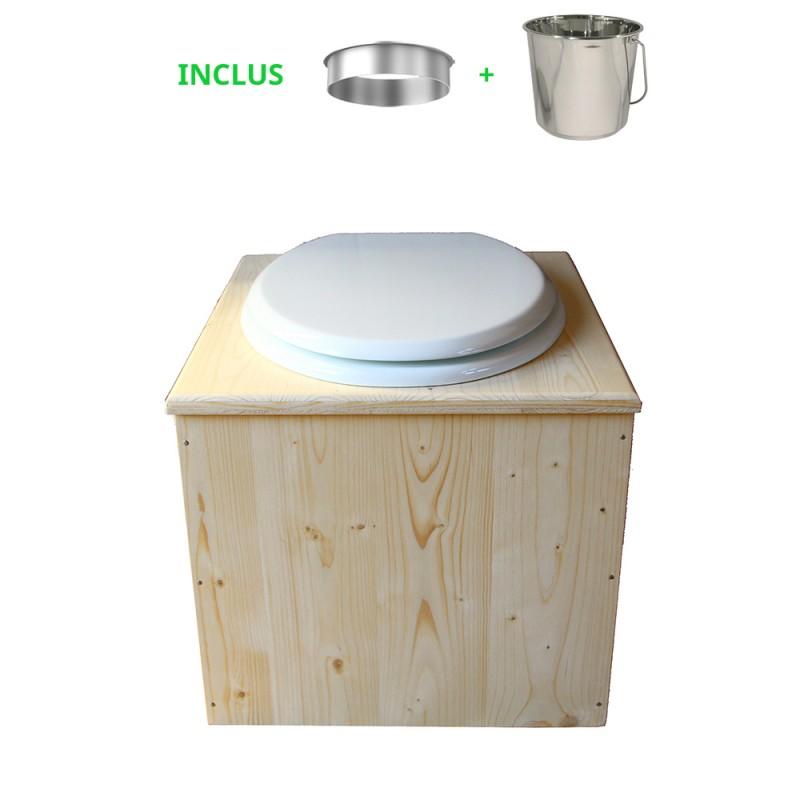 Toilette sèche - La Blanche inox