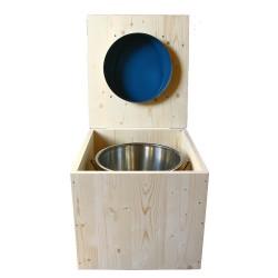 Toilette sèche - La Bleu nuit inox