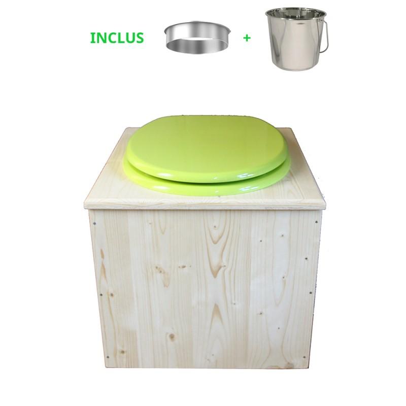 Toilette sèche - La vert pomme inox
