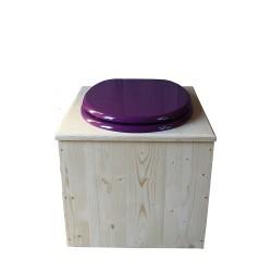 Toilette sèche - La violet prune inox