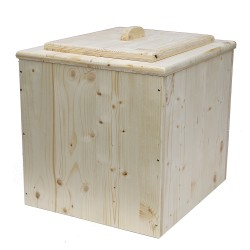 Toilette sèche bois premier prix