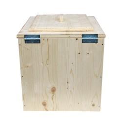 Toilette sèche premier prix - wc sec écologique en bois
