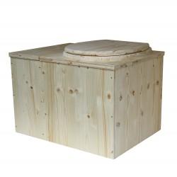 Toilettes sèches avec bac à copeaux de bois