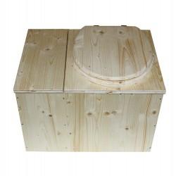 Toilettes sèches écologique avec bac à copeaux de bois