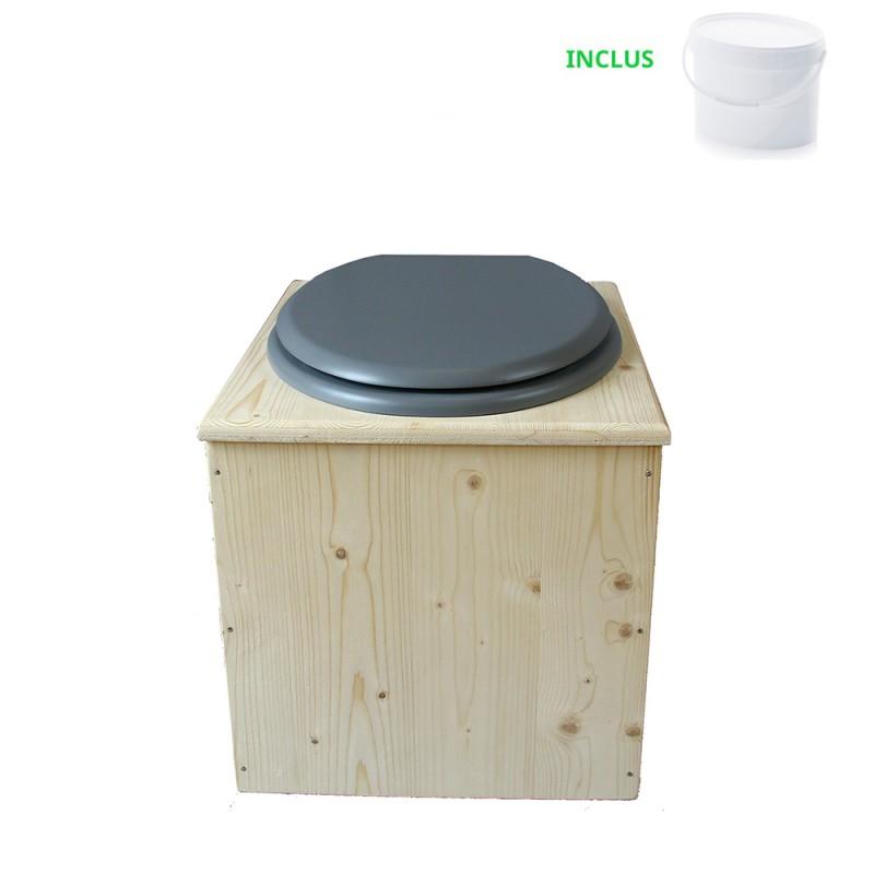Toilette sèche - La gris clair
