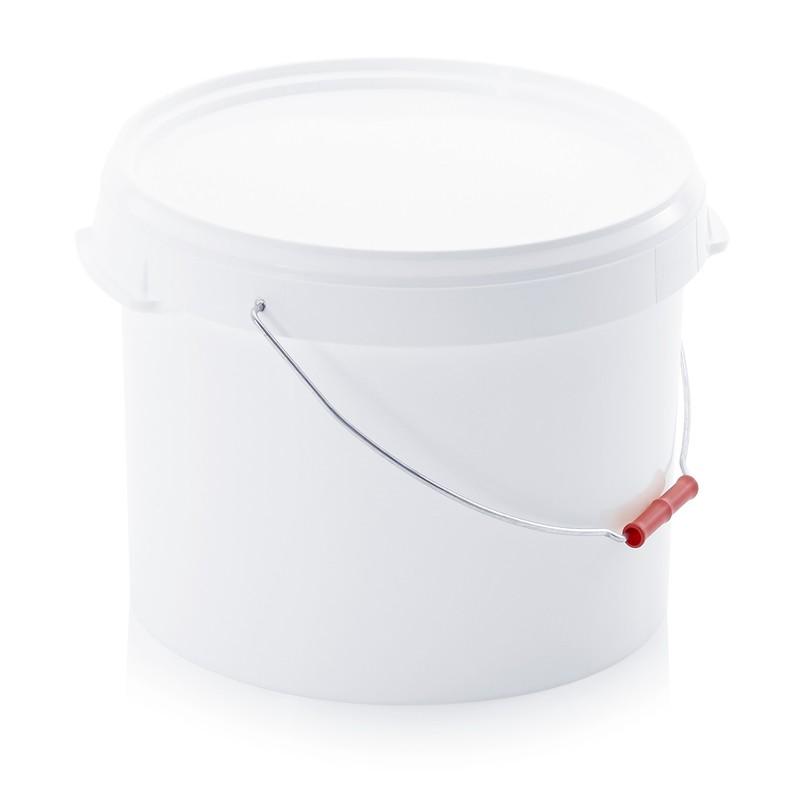 seau plastique alimentaire 22 litres pour toilettes sèches.