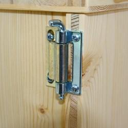 toilette sèche de voyage en kit - montage facile sans outil