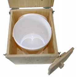 toilette sèche de voyage - toilette sèche en kit avec seau