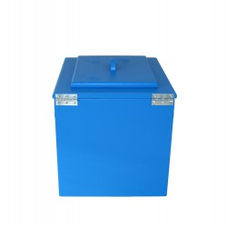 Toilette sèche couleur bleue premier prix - wc sec écologique en bois de couleur bleue
