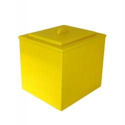 Toilette sèche pas chère de couleur jaune