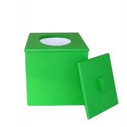 Toilette sèche pas chère de couleur verte