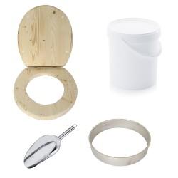 Kit fabrication toilette sèche auto-constructeur