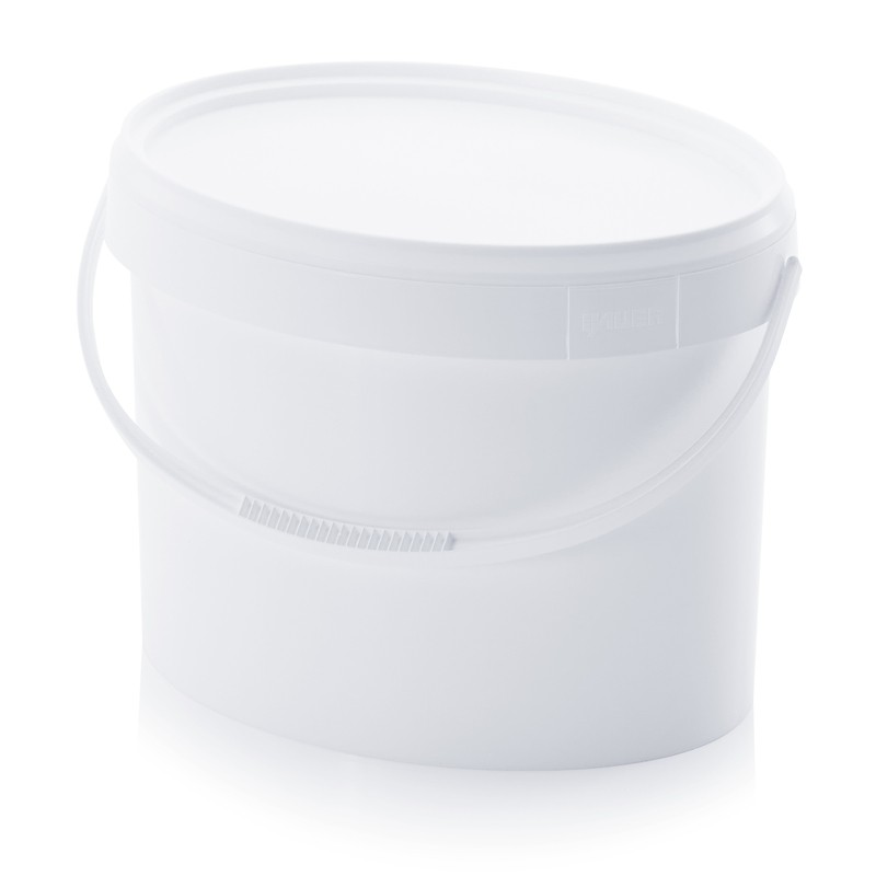seau ovale plastique alimentaire 18 litres pour toilettes sèches