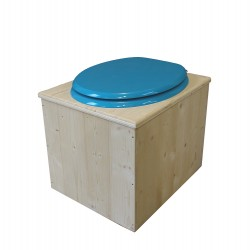 Toilette sèche - La Bleu turquoise