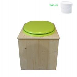 Toilette sèche - La vert pomme