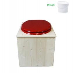 Toilette sèche - La rouge framboise