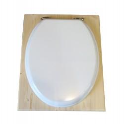 Toilette sèche - La blanche