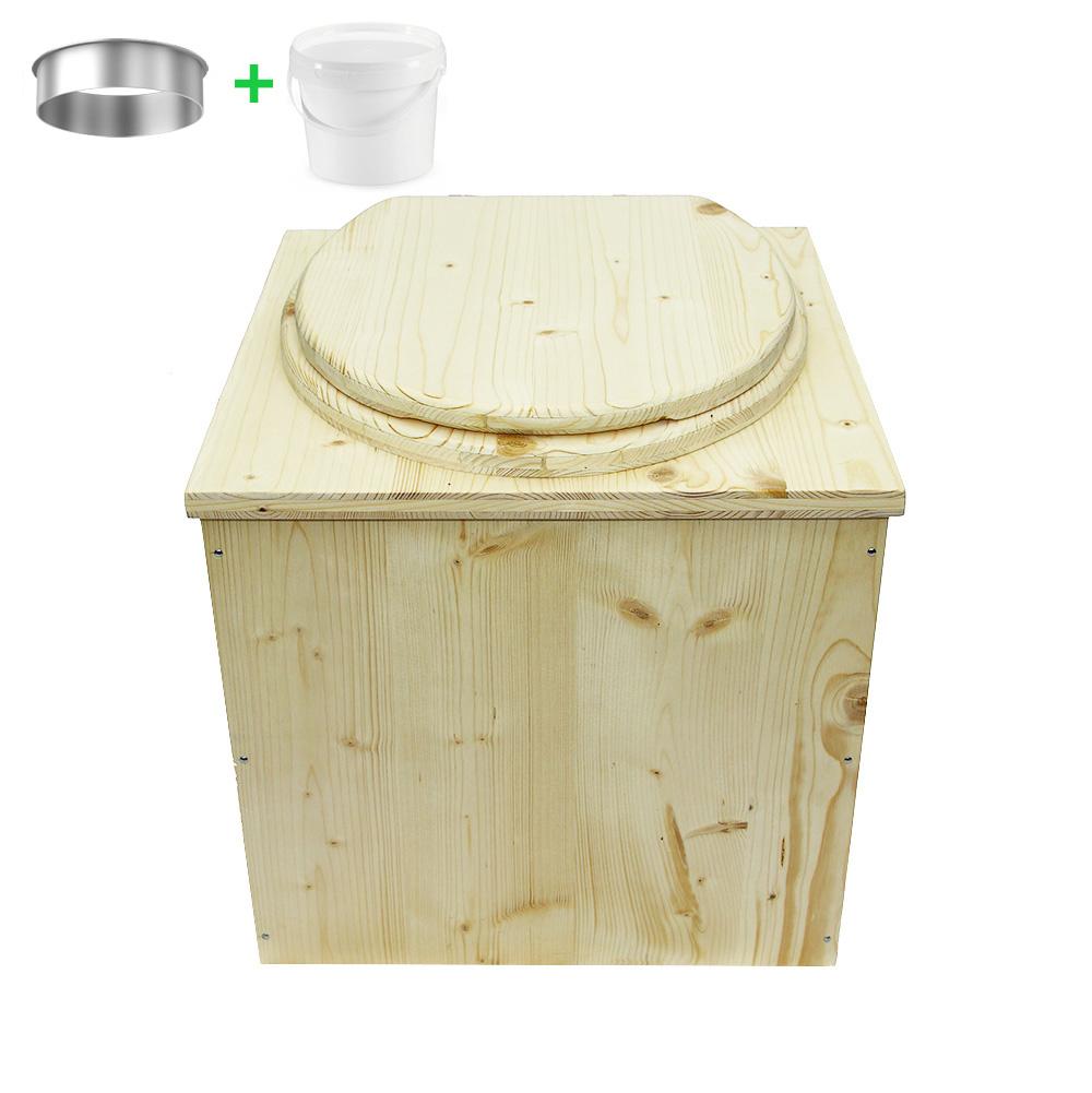 toilettes sèches Belgique - la cube complète