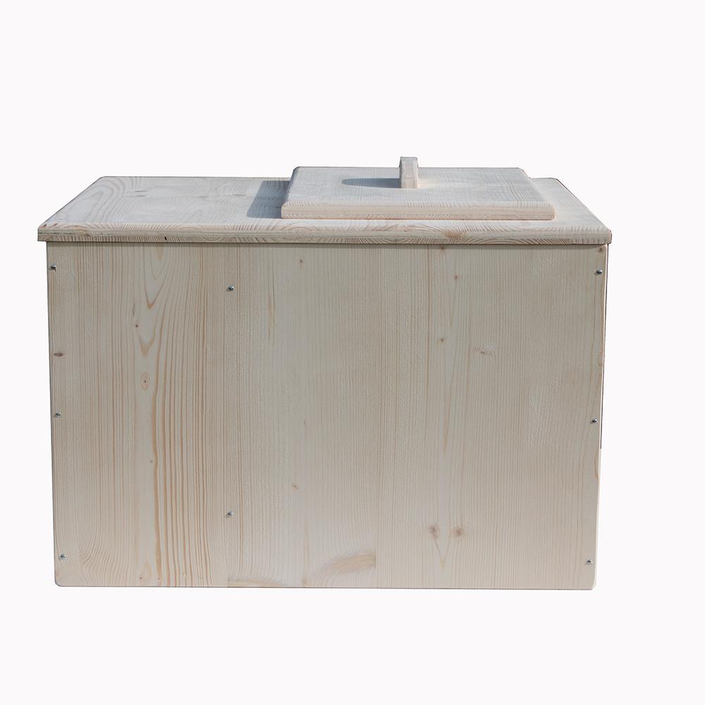 toilette sèche Belgique - La rustique bac 1